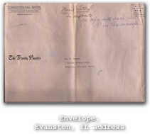 Envelope, Evanston, IL address
